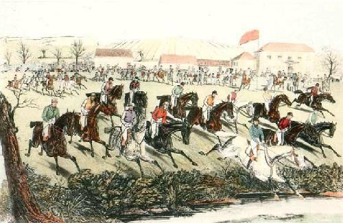 The Start (Restrike Etching) by Charles Hunt