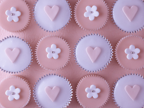 Pink Cupcakes II by Assaf Frank