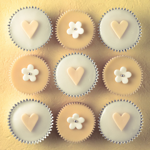 Cream Cupcakes by Assaf Frank