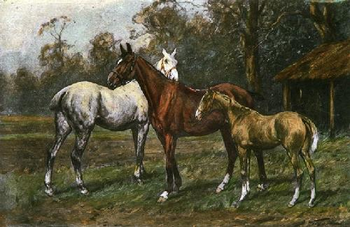 Promising Youngster, A (Restrike Etching) by Wright