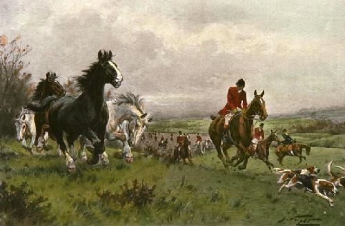 Non Members (Restrike Etching) by Wright