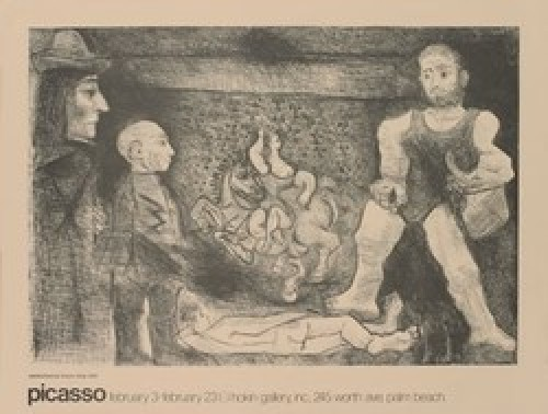 Picasso, his work and his public by Pablo Picasso