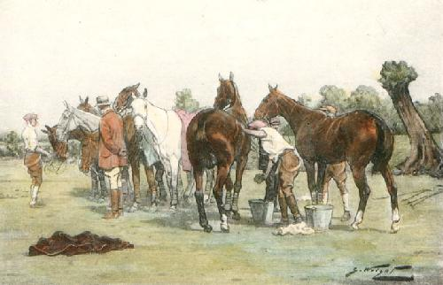 Washing Down (Restrike Etching) by Wright