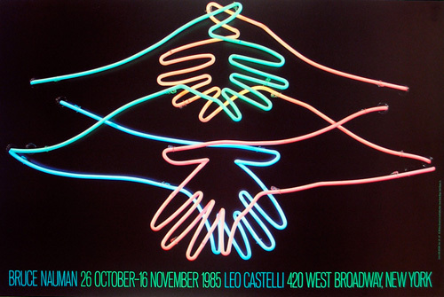 Big Welcome, 1985 by Bruce Nauman