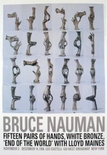 Fifteen Pairs of Hands, 1996 by Bruce Nauman
