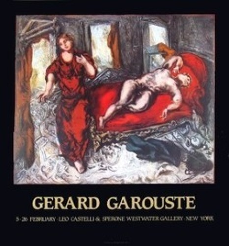 Scenes of a room by Gerard Garouste