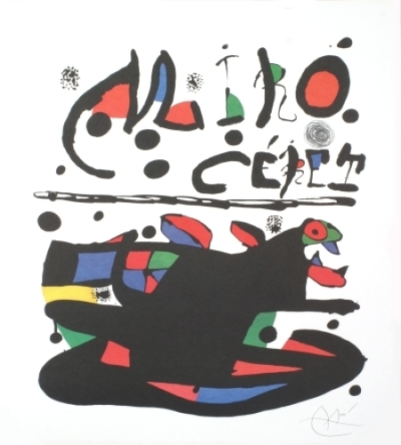 Ceret, 1977 by Joan Miro