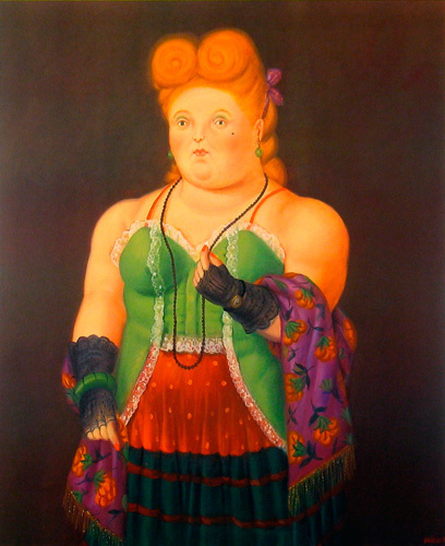 High Society by Fernando Botero
