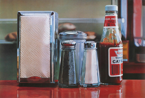 Tomato Catsup by Ralph Goings
