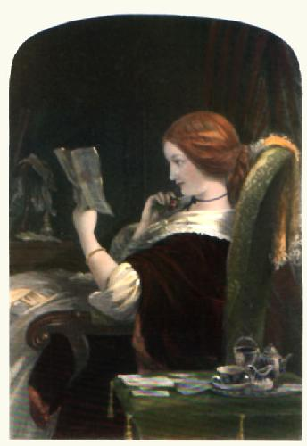 Marguerite (Restrike Etching) by Francis Stephen Cary