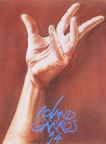 Roland garros, 1994 by Ernest Pignon