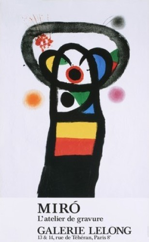 The Poet Assassinated, 1990 by Joan Miro
