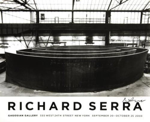 Blindspot (signed). 2003 by Richard Serra