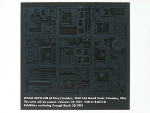 Pace Columbus by Louise Nevelson