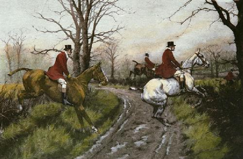 Straight Riders (Restrike Etching) by Wright