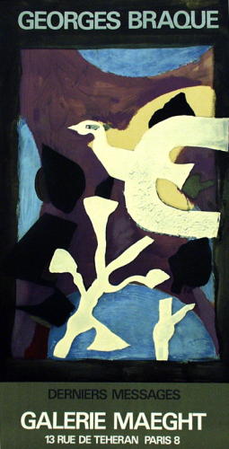 Affiche 102, 1967 by Georges Braque