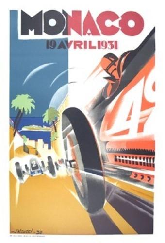 Monaco Grand Prix, 1931 by Robert Falcucci