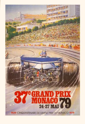 Monaco Grand Prix 1979 by Alain Giampaoli