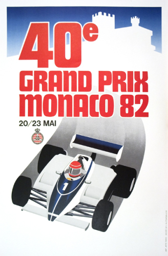 Monaco Grand Prix 1982 by Anonymous