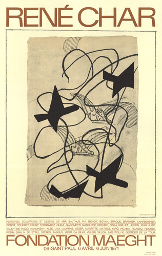 Rene Char by Georges Braque