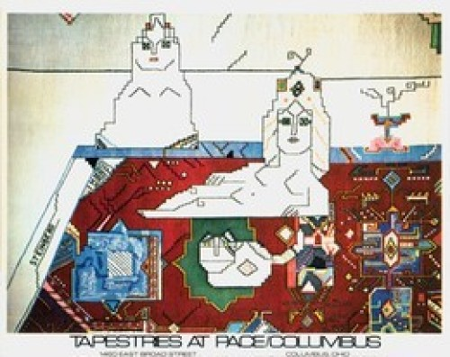 Persian Rug, 1977 by Saul Steinberg
