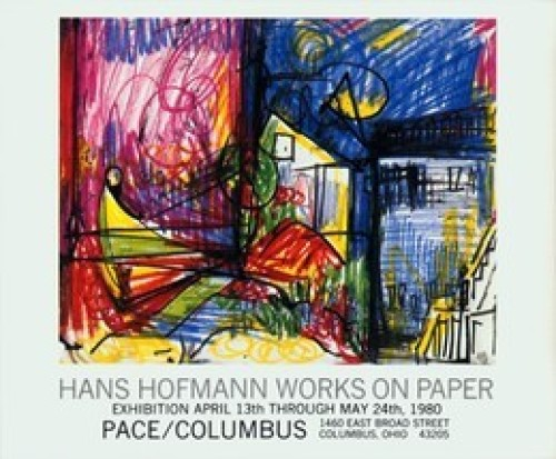 Landscape-Works on Paper by Hans Hofmann