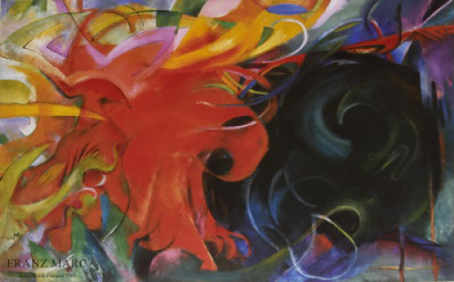 Constellation by Franz Marc