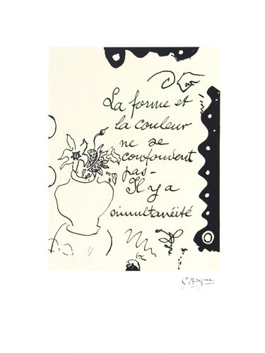 La Forme by Georges Braque