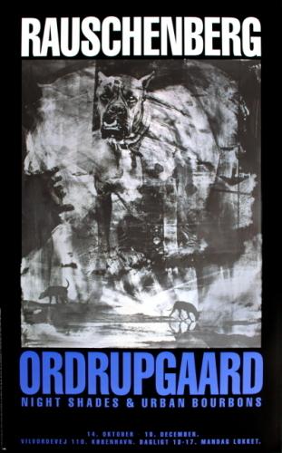 Night Shades & Urban Bourbons by Robert Rauschenberg