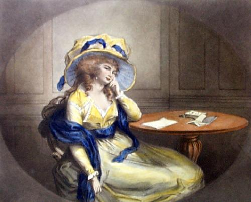 Contemplation (Restrike Etching) by Anonymous