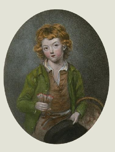 The Match Boy (Restrike Etching) by Smith