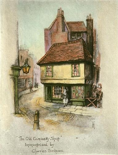 Old Curiosity Shop, The (Restrike Etching) by Anonymous