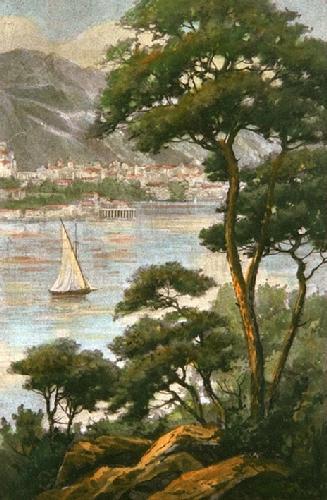 Lake Geneva (Restrike Etching) by Smith