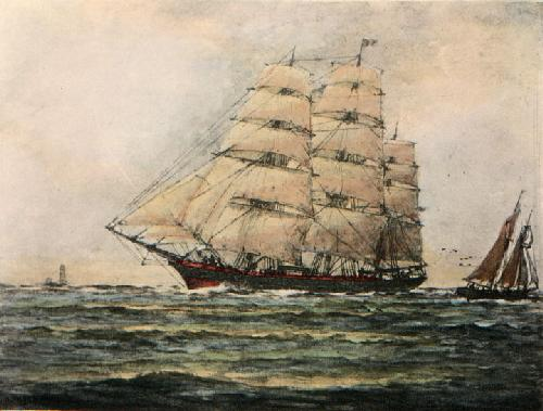 The Glorious Clipper (Restrike Etching) by Wilde Parsons