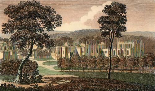 Aukland Castle (Restrike Etching) by Anonymous