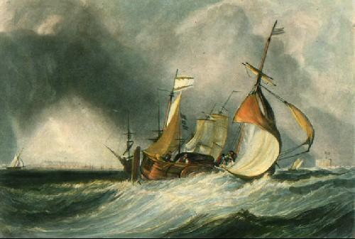 Mouth of the River Humber (Restrike Etching) by Joseph Mallord William Turner