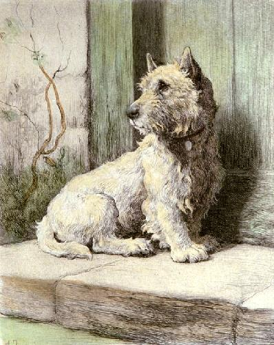 Wee Jock (Restrike Etching) by Herbert Thomas Dicksee