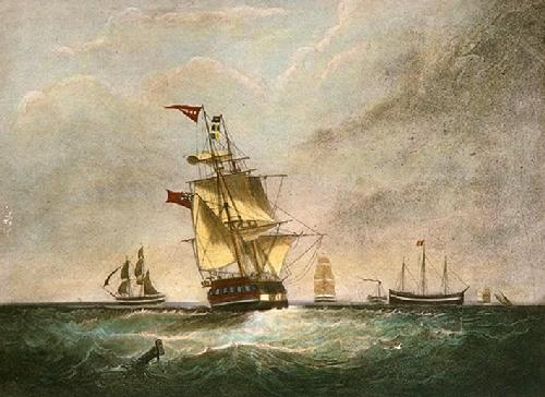 Homeward Bound (Restrike Etching) by Samuel Walters