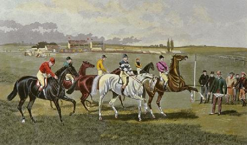 Preparing to Start (Restrike Etching) by TNH Walsh