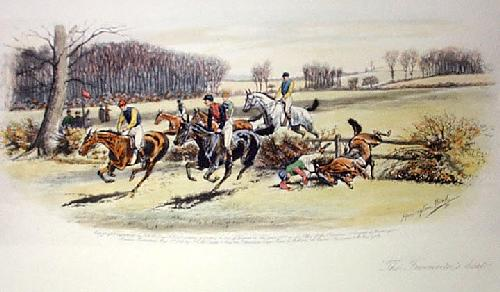 The Favourite's Beat (Restrike Etching) by Harrington Bird