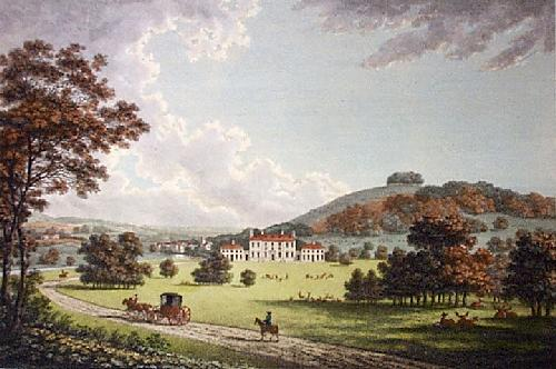 Godmersham Park (Restrike Etching) by William Watts