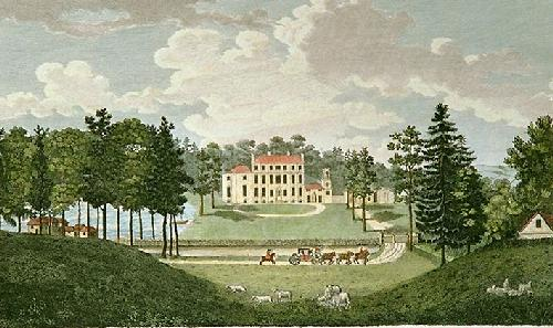 Bradborne, near Sevenoke (Restrike Etching) by Robert Godfrey