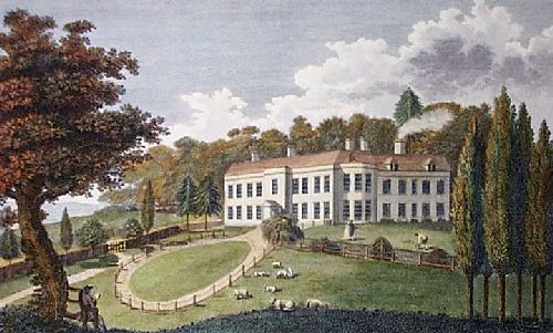Harrietsham Place (Restrike Etching) by Anonymous