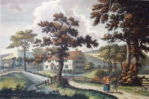 Park House, near Folkestone (Restrike Etching) by Noble Barlow