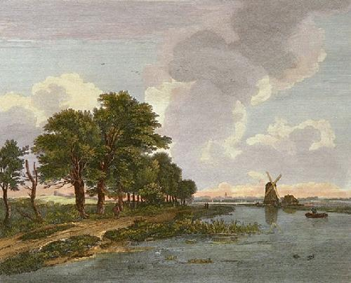 Rysdall View (Restrike Etching) by Rysdall