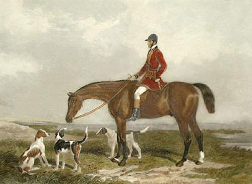 Charles Davis on the Traverser (Restrike Etching) by Henry Barraud
