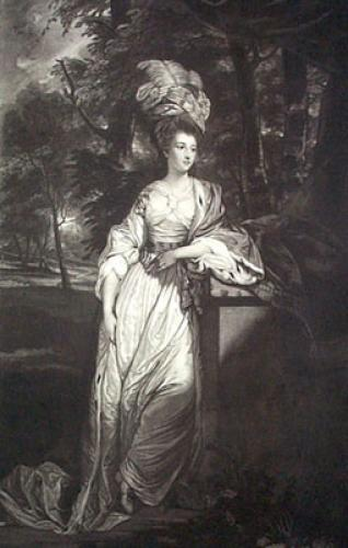 Duchess of Rutland (Restrike Etching) by Sir Joshua Reynolds