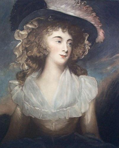 Mrs Tickell (Restrike Etching) by George Romney