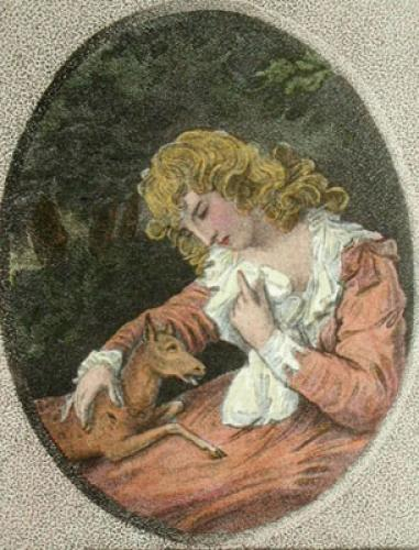 The Wounded Fawn (Restrike Etching) by Samuel Shelley
