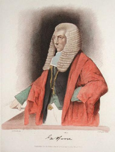 G. Horn, MP (Restrike Etching) by Abraham Wivell